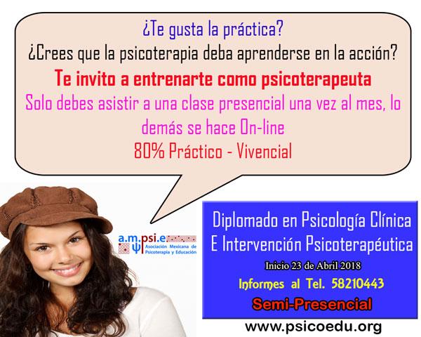 Diplomado en psicología clínica