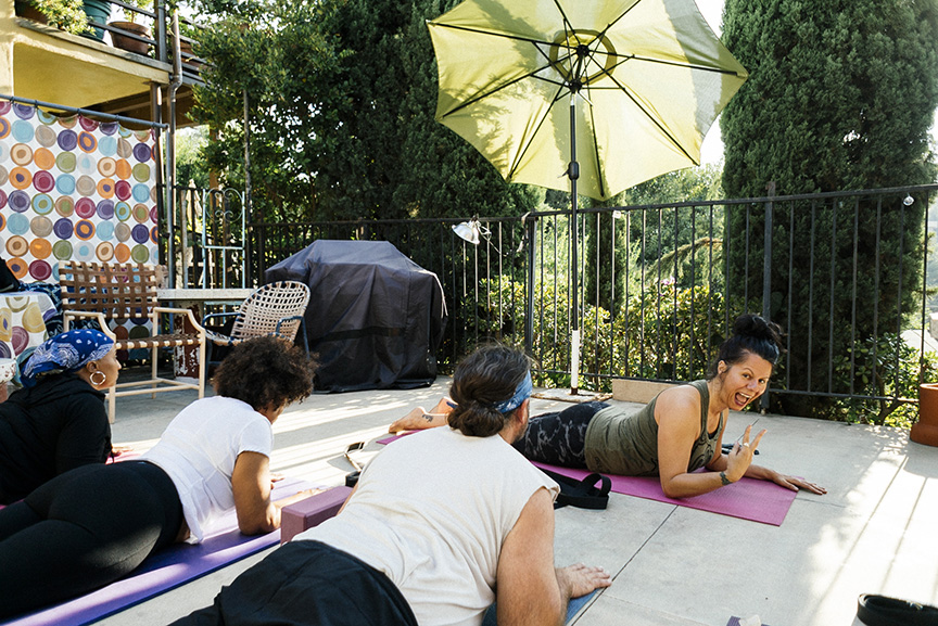 Cannabis Yoga Class with Stefani Manger