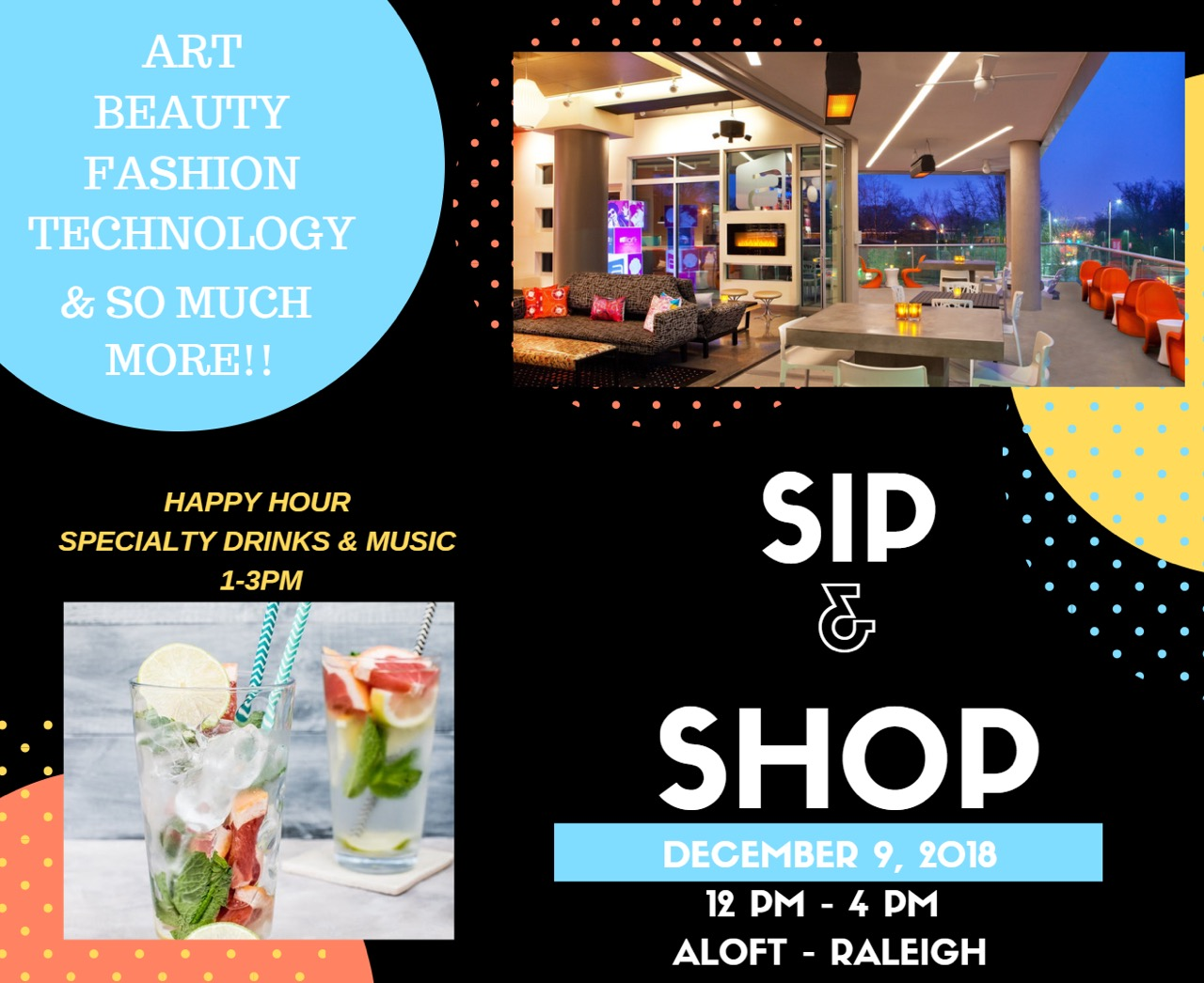 Holiday Sip N Shop 2018 Presented by Ariscend LLC