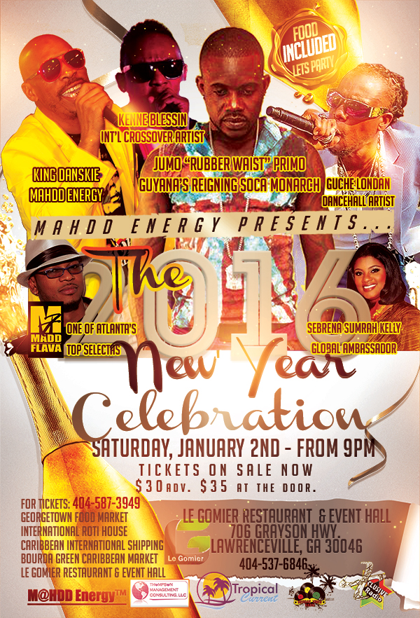 MaHDD Energy - Jan 2 2016 - New Year Celebration