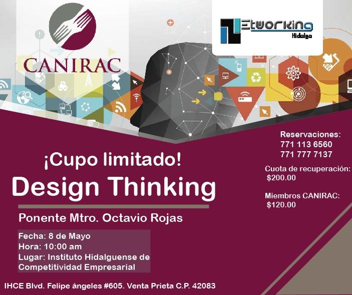 Taller de Design Thinking CANIRAC