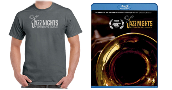JAZZ NIGHTS T-shirt & Blu-ray.