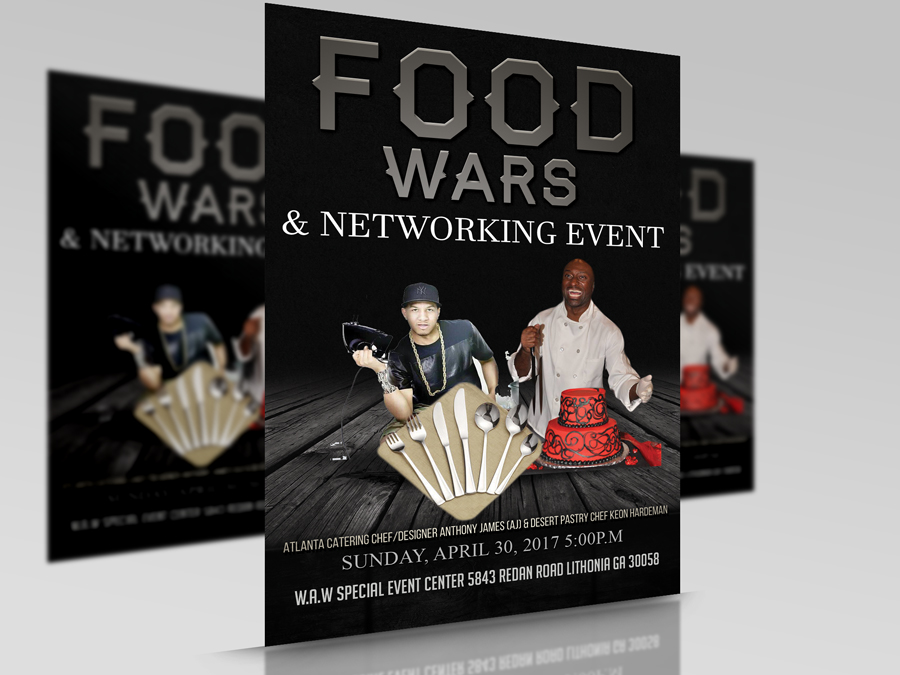 Food Wars and networking event