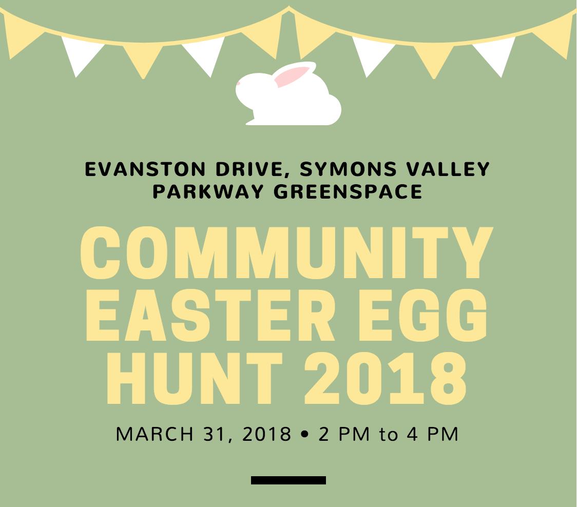 Evanston Easter Egg hunt