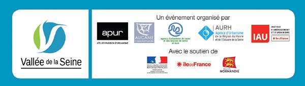 Logos des organisateurs de l'événement : La Vallée de la Seine XXL