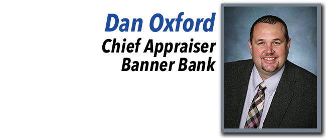 Dan Oxford, Chief Appraiser at Banner Bank