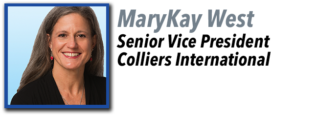 MaryKay West, Senior Vice President of Colliers International.