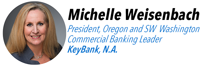Michelle Weisenbach, President, Oregon and SW Washington, Commercial Banking Leader, KeyBank N.A.