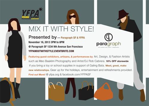 YFPAMIXITWITHSTYLE.eventbrite.com