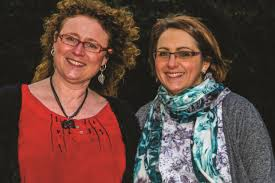 Jane Sherwin and Helen from The Jigsaw Tree