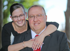 Judge Wayne Mack and wife, Mindy