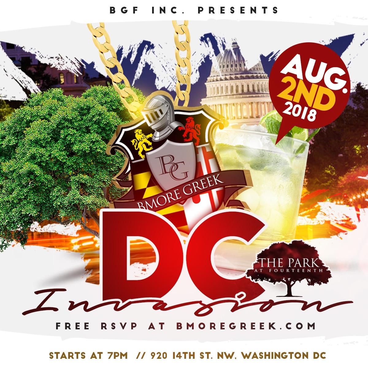 Thursday BmoreGreek DC Invasion