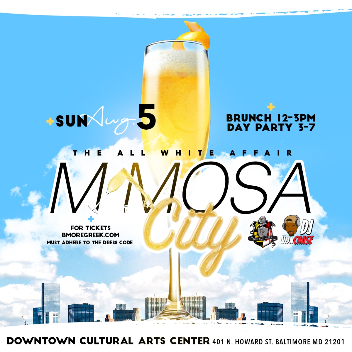 Sunday BmoreGreek Mimosa City
