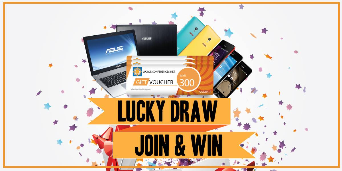 Join us an stand to win grand prizes!