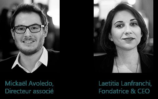 Mickael Avoledo et Laetitia Lanfranchi