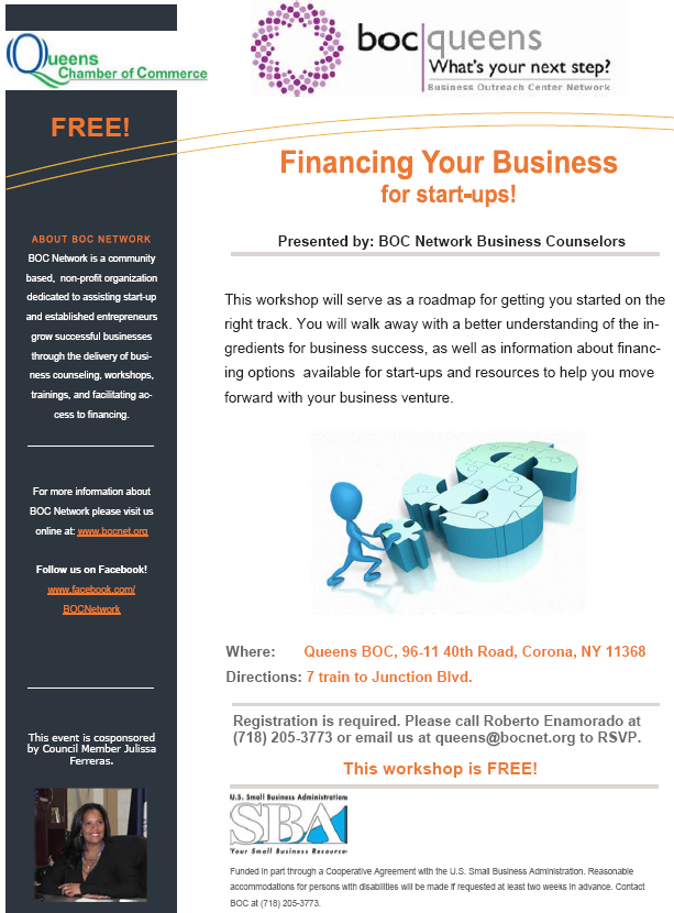 Financing Your Business for start-ups!