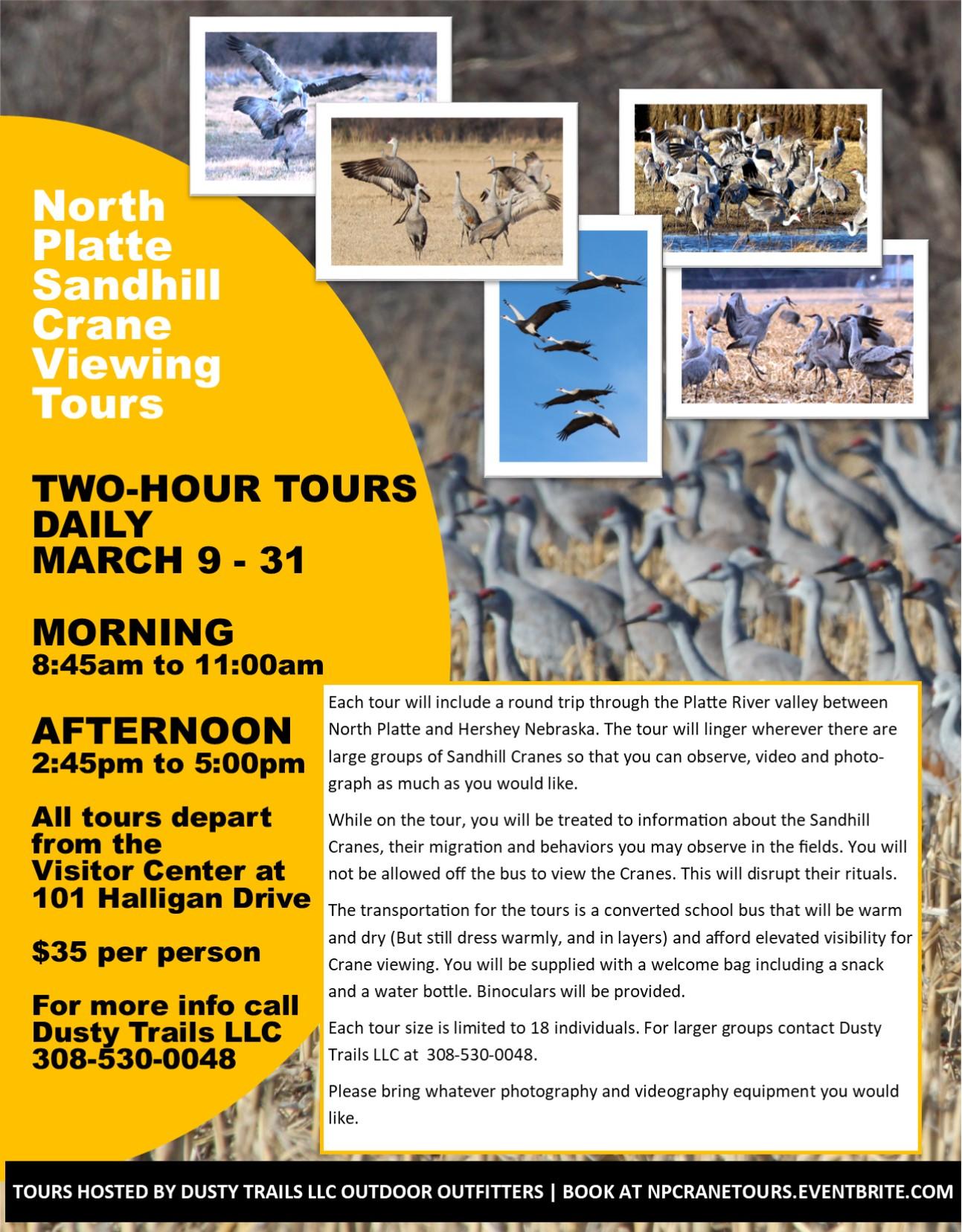 Sandhill Crane Tours