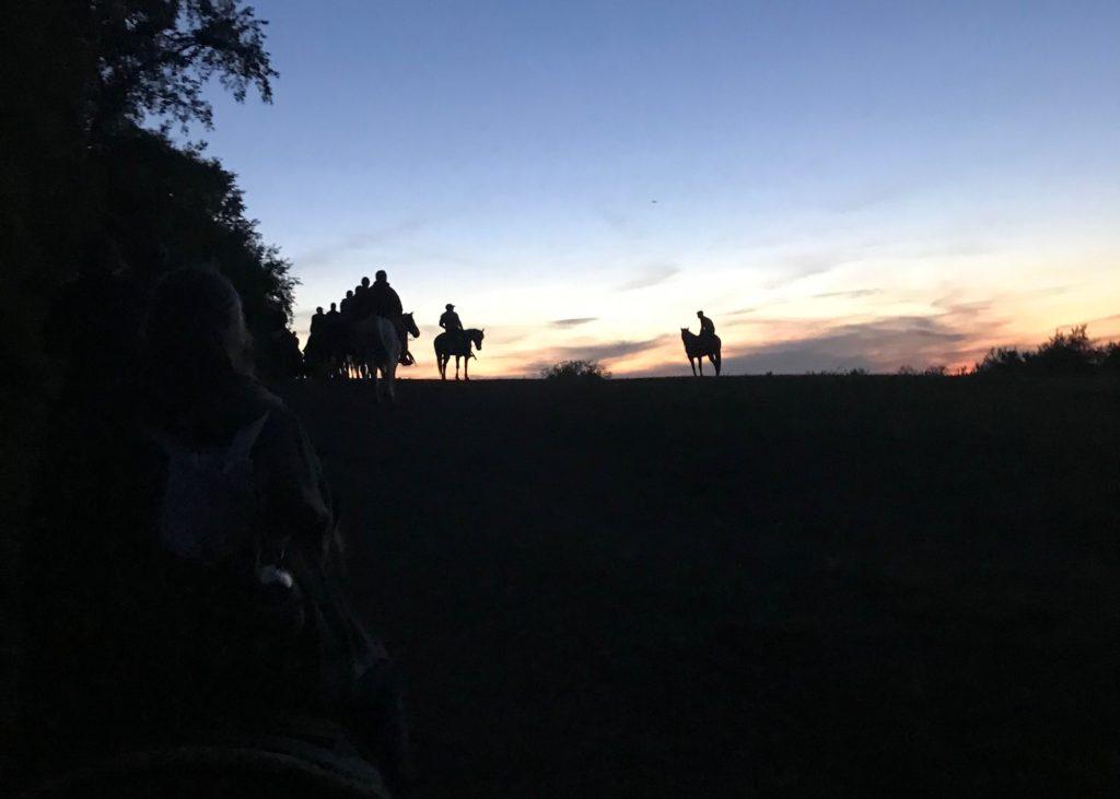 Dawn Horseback