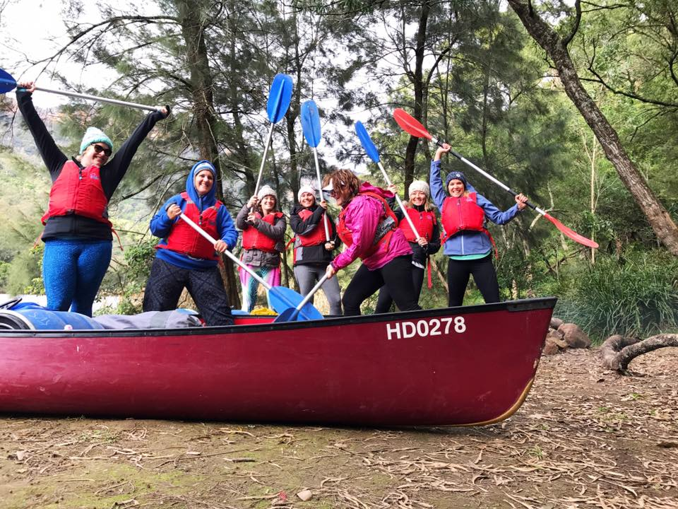Women Want Adventure Kayaking Trip