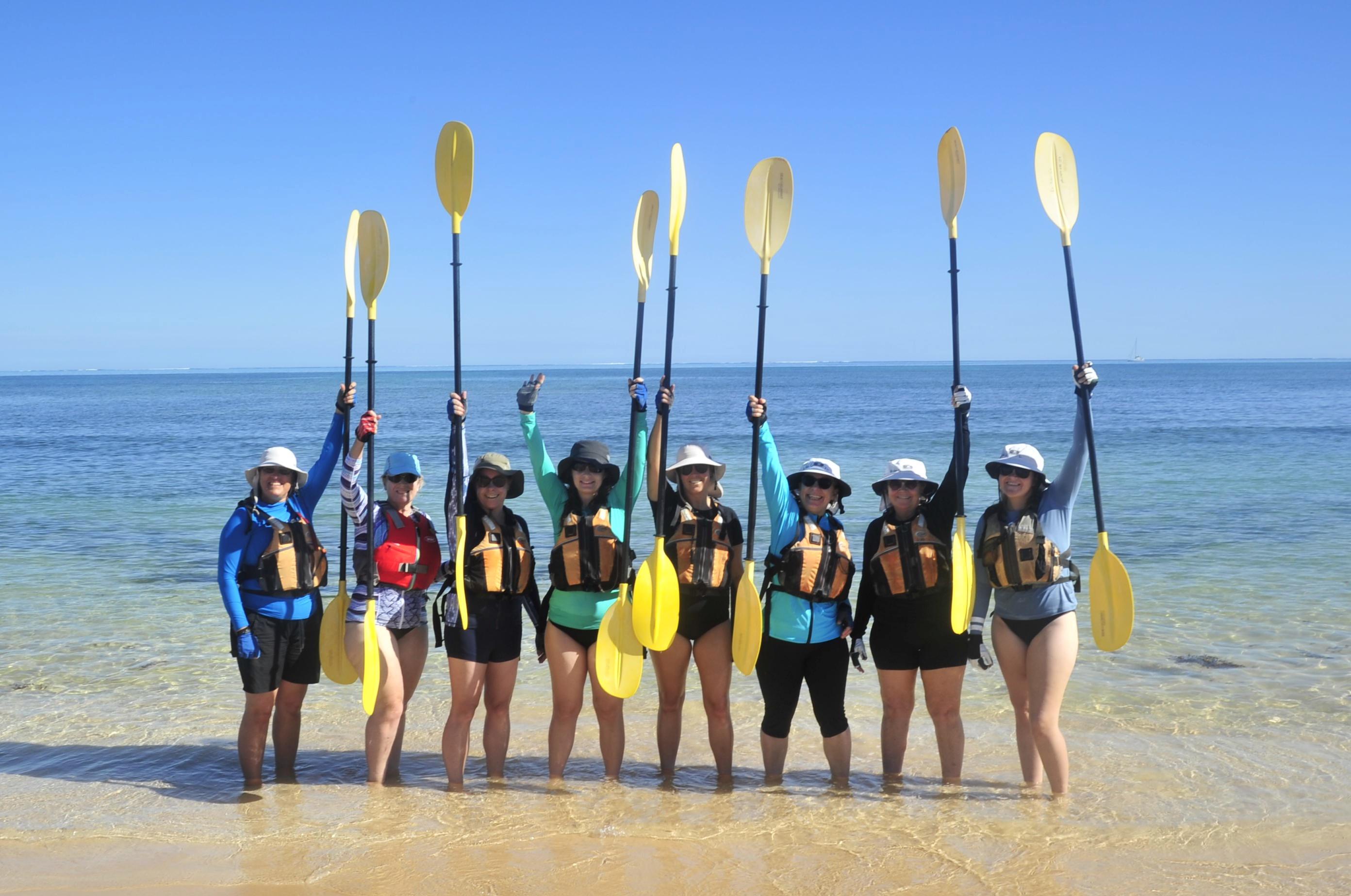Kayaking Ningaloo Reef