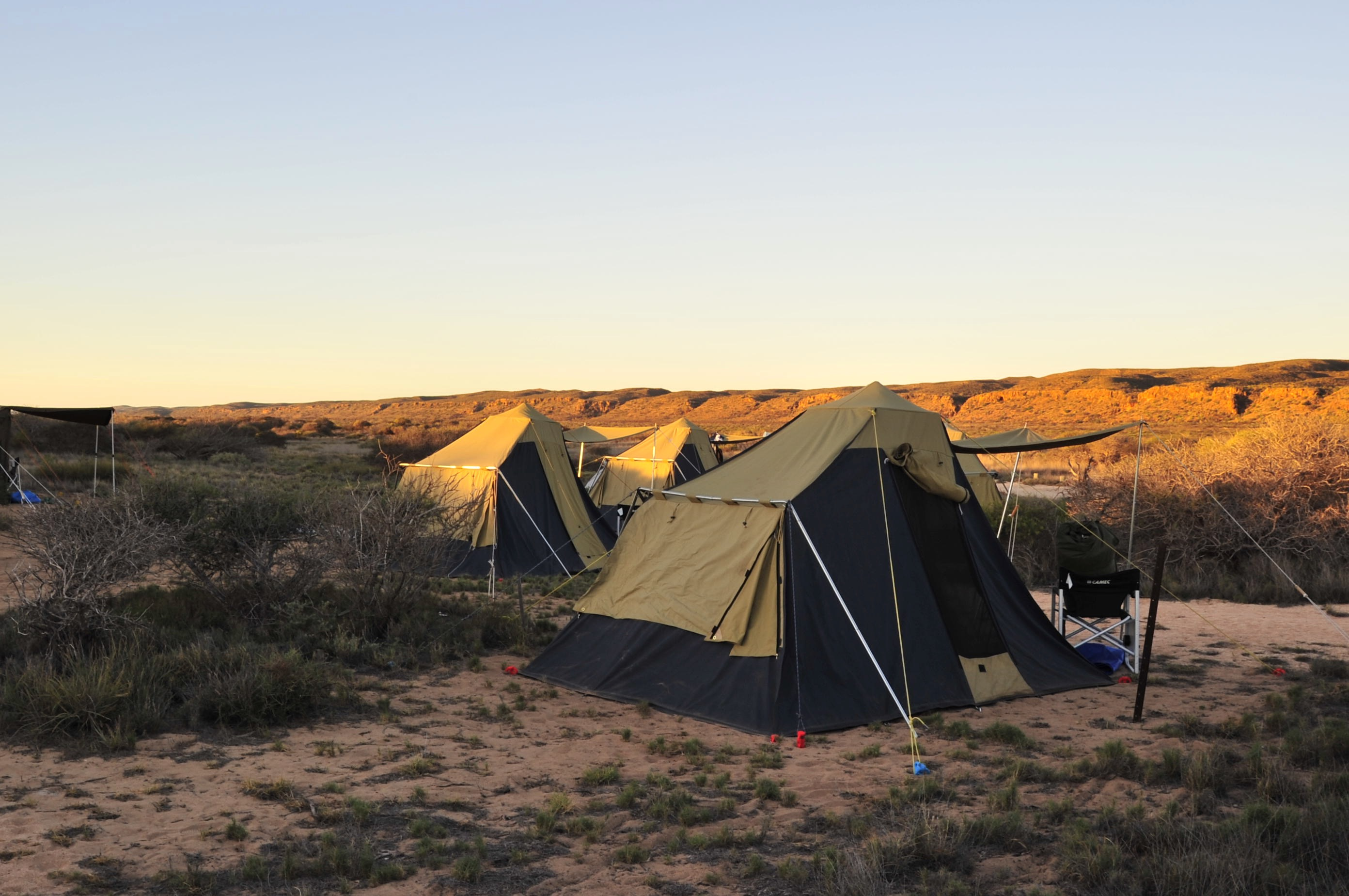 Base Camp Cape Range
