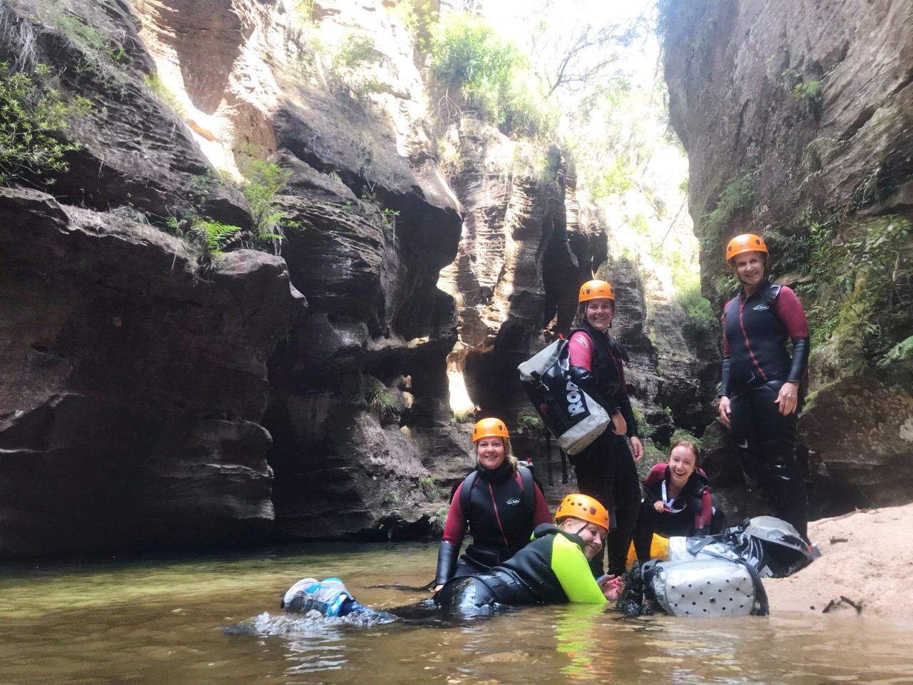 Women Want Adventure Canyoning