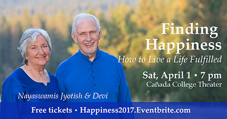 Jyotish & Devi - Finding Happiness - Cañada College Theater