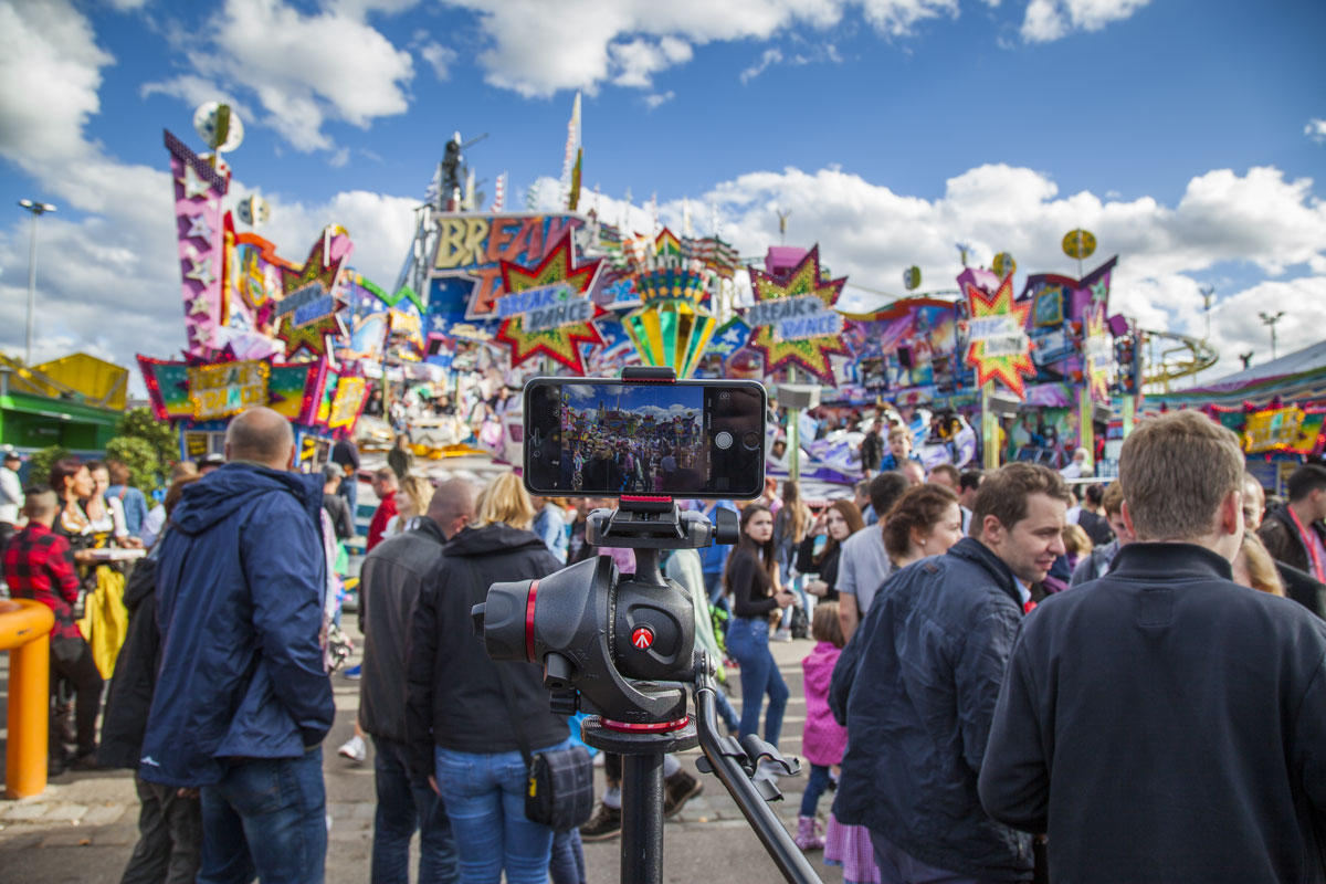 Fotografieren und Filmen mit dem Iphone