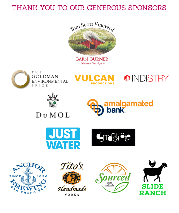 The Redford Center Benefit Event Sponsors