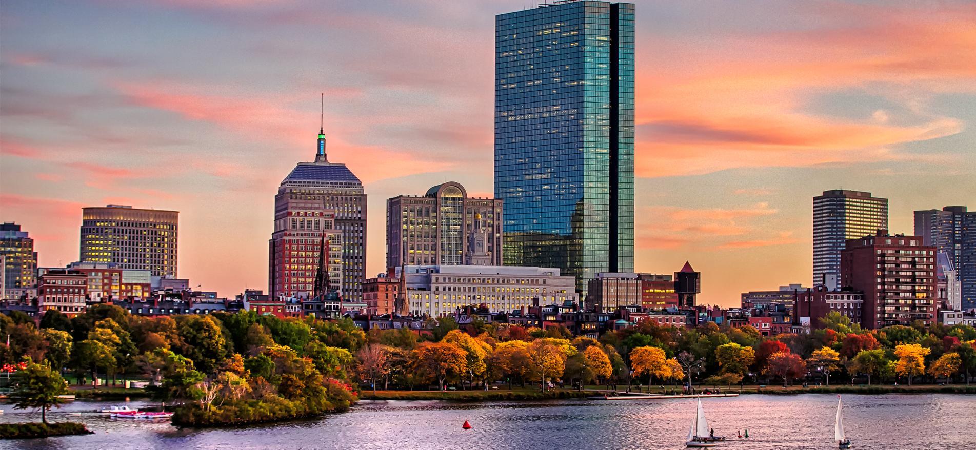 Boston Fall Skyline