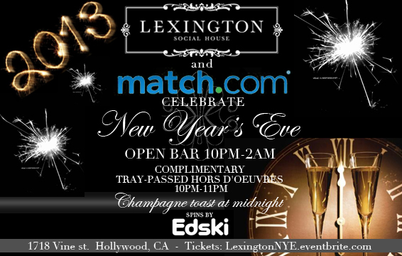 Lexington NYE Invite