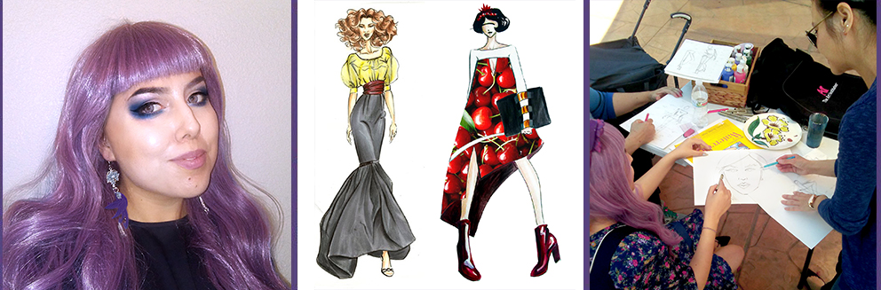 fashion illustration workshops Los Angeles