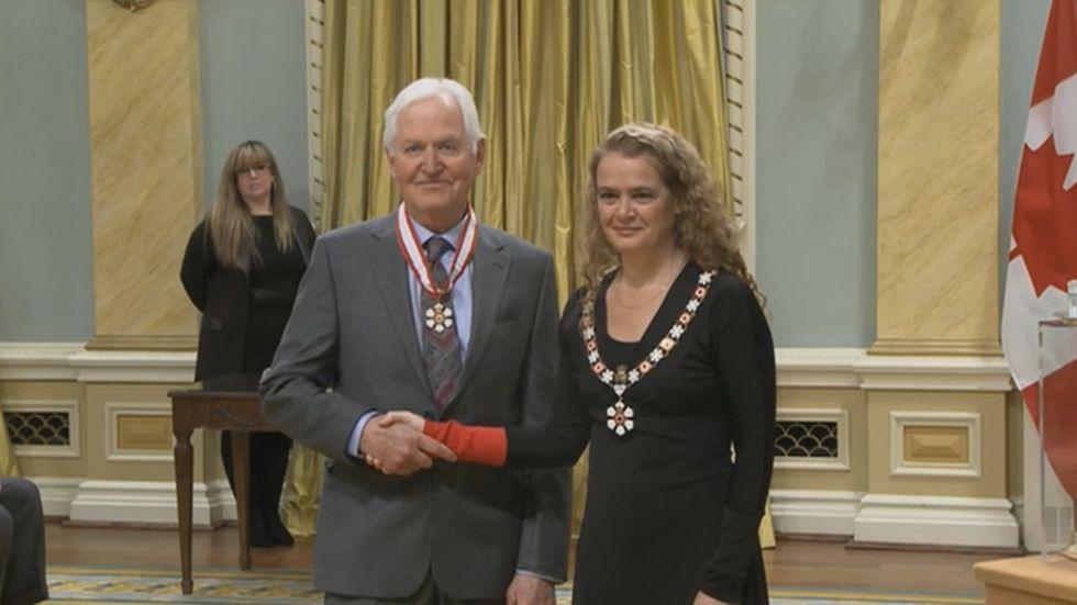 Bryan Kolb Order of Canada