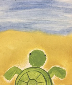 Beach Bum Turtle