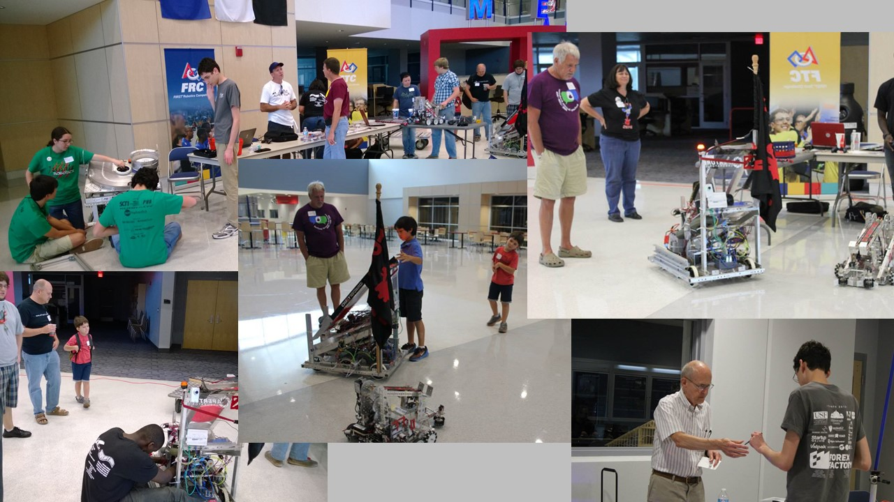 Robotics collage DaVinci's Faire