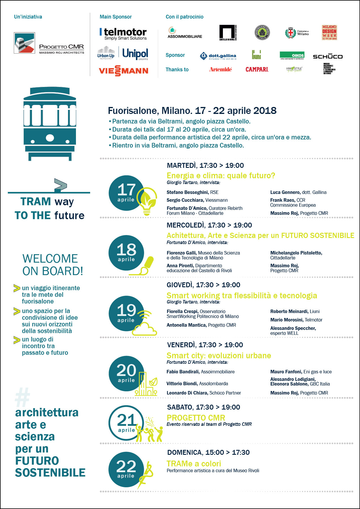 Programma tram way to the future