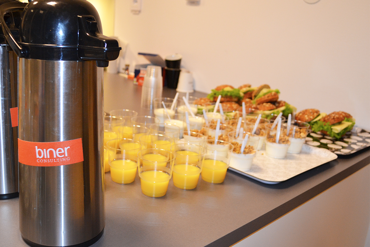 Frukost på Product Owner kurs 2017