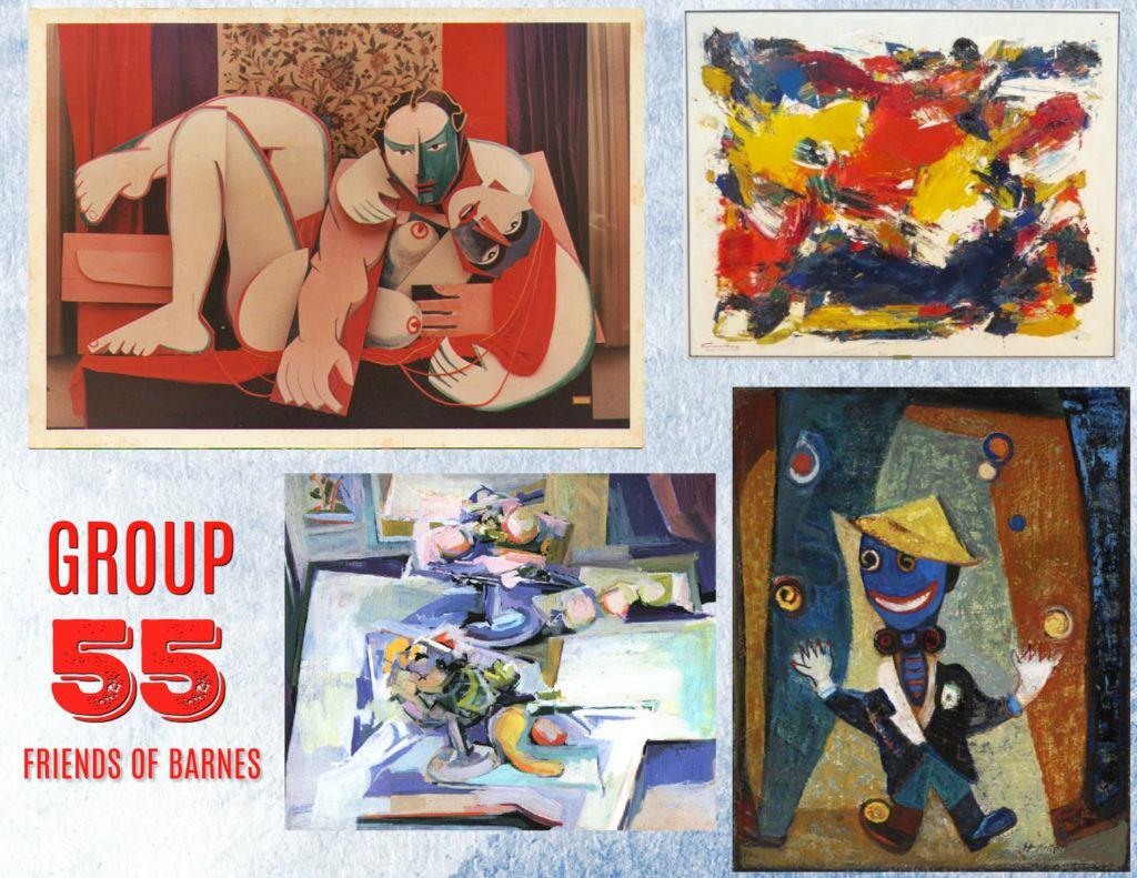 Group 55 Art Exhibit