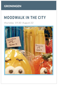 Moodwalk in the City, Groningen augustus 2013