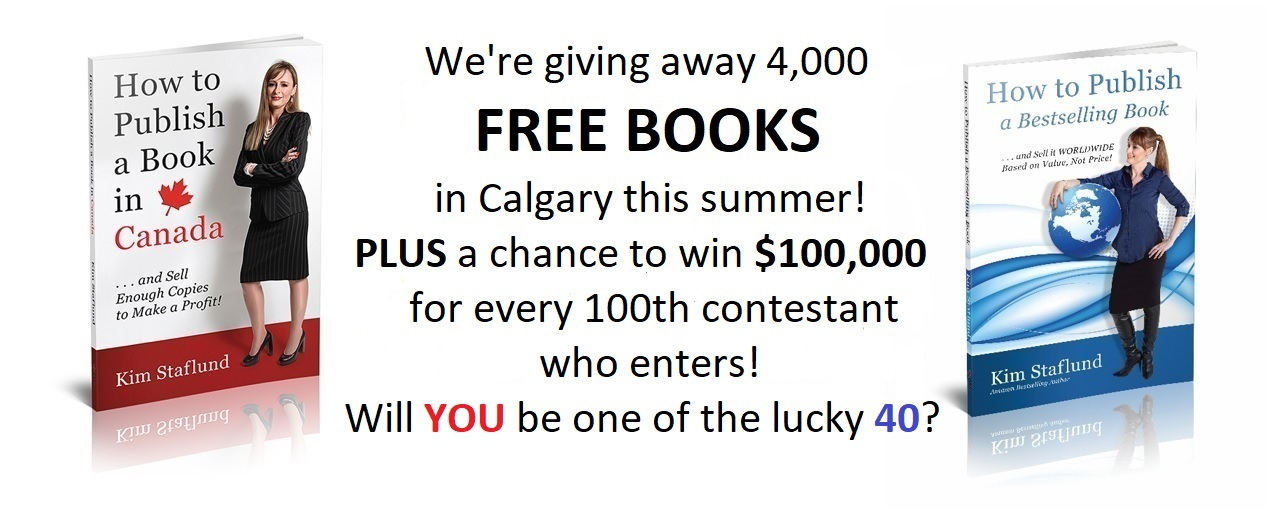 FREE BOOKS and $100,000!