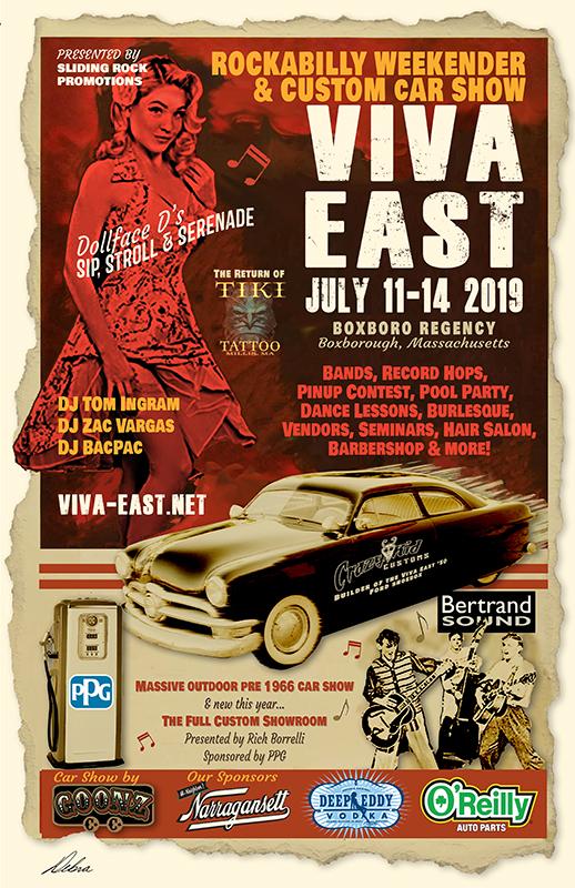 Viva East 2019 Poster