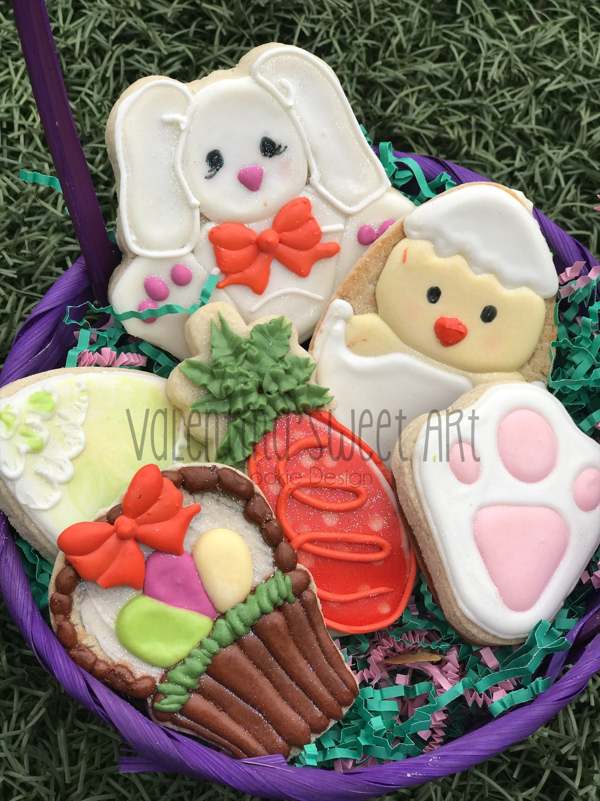 Cookie Decorating Class White Bunny 2
