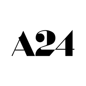 A24 film logo