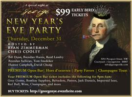 New Year's Eve at George hosted by Ryan Zimmerman and Chris...
