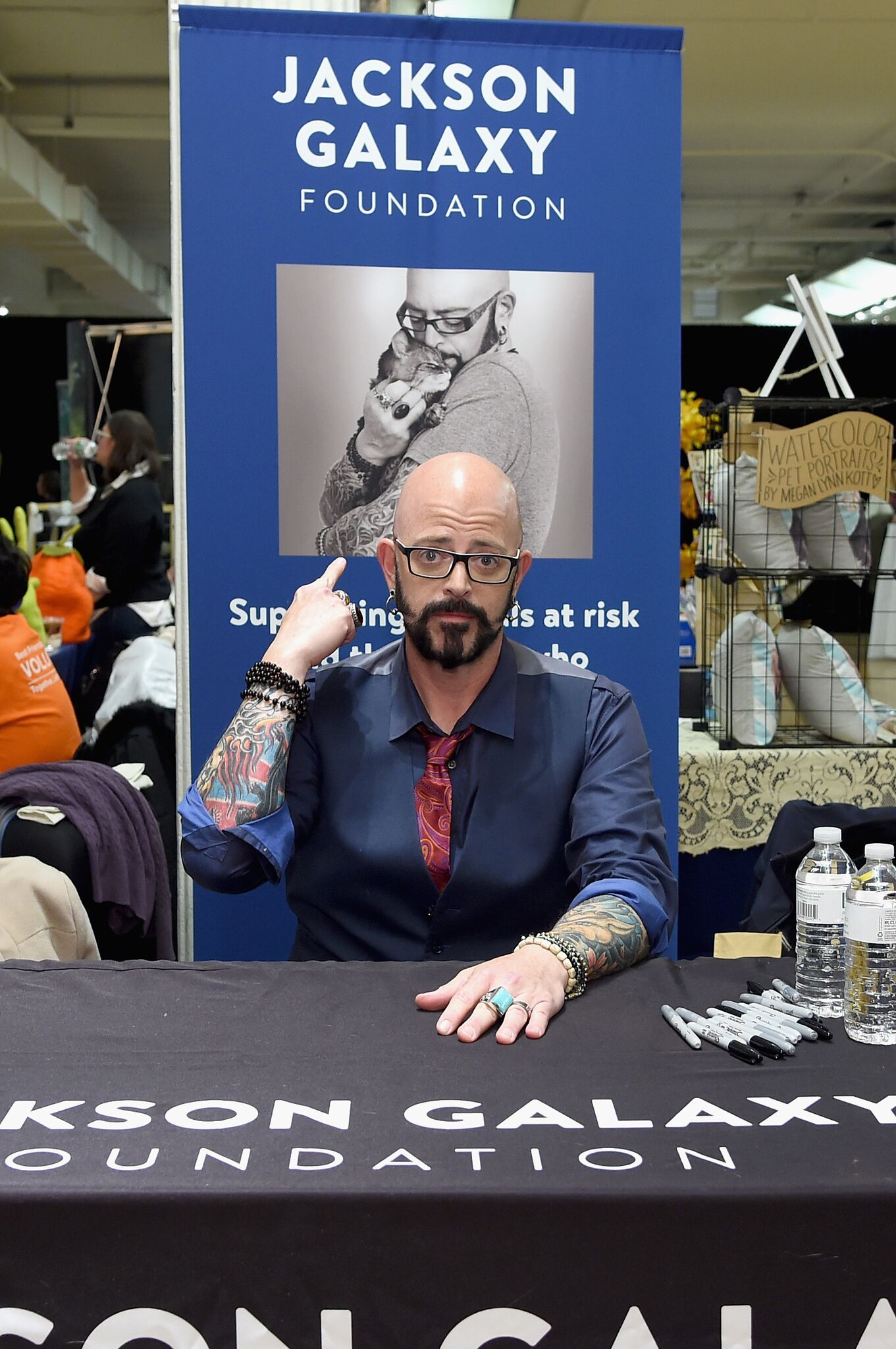 Jackson Galaxy at Cat Camp