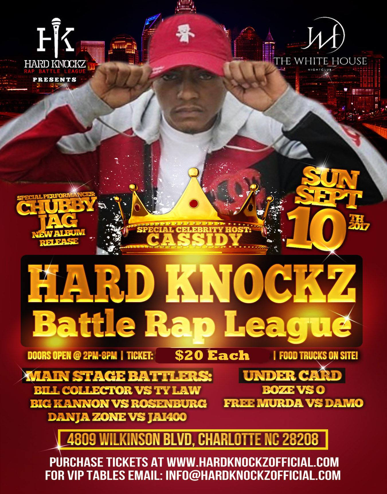 Hard Knockz Presents Gut Check - co-hosted by Cassidy