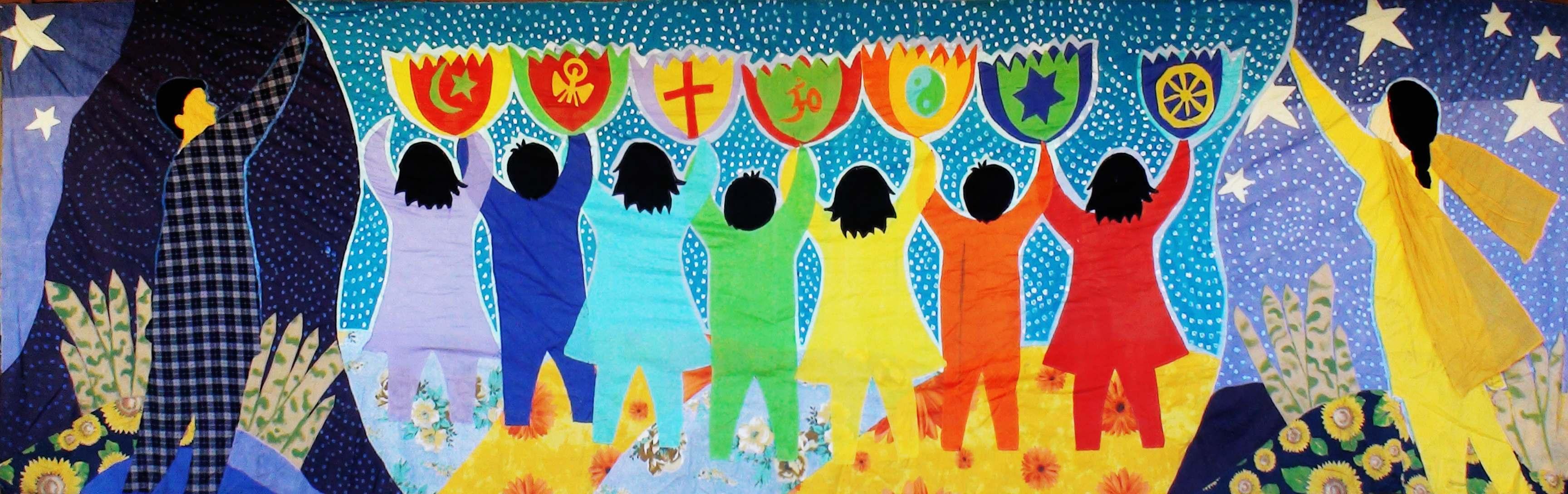 Healing hearts mural art afghanistan pakistan tickets for Art miles mural project