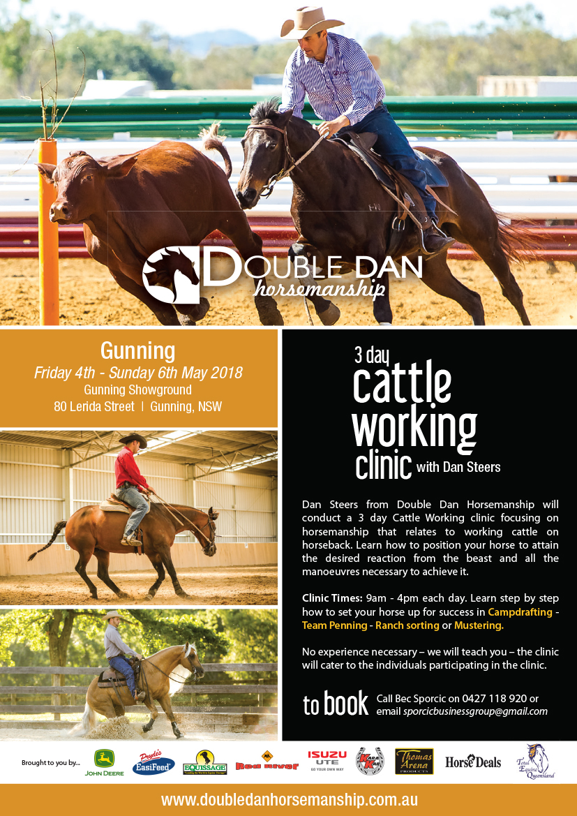 Flyer - Double Dan Cattle Work Gunning