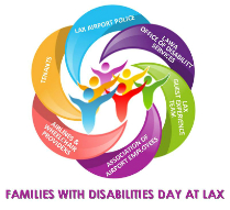 Families with Disabilities Day at LAX Logo