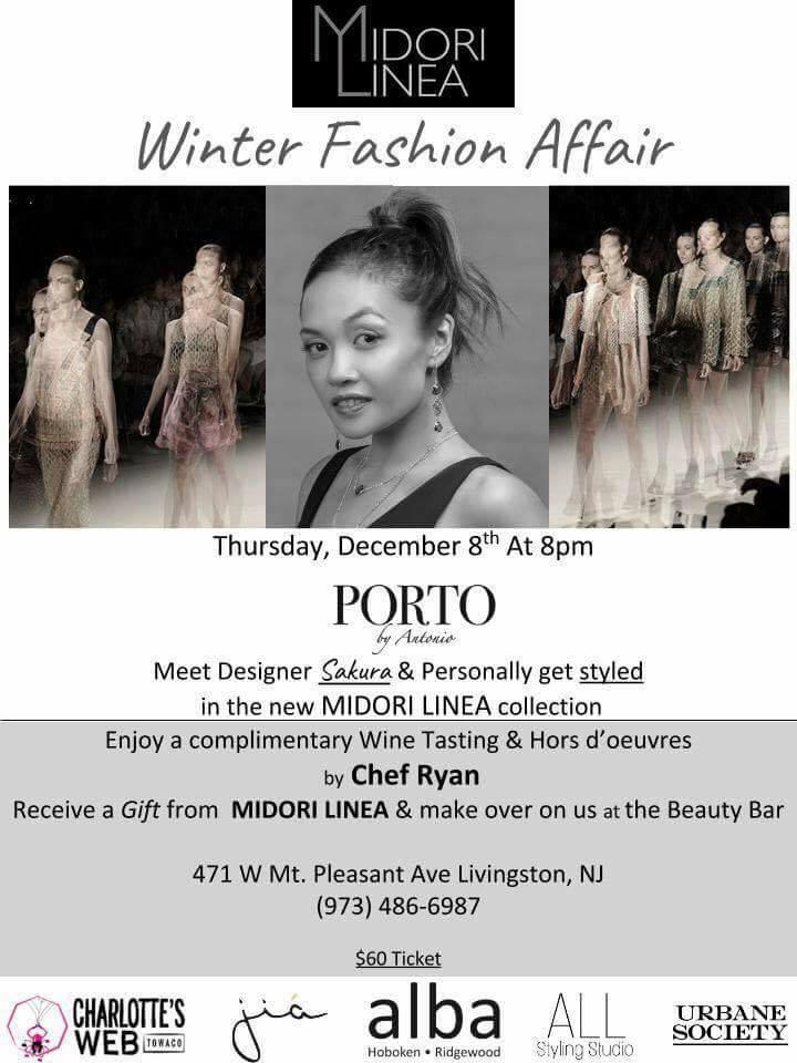 MIDORI LINEA Winter Fashion Affair